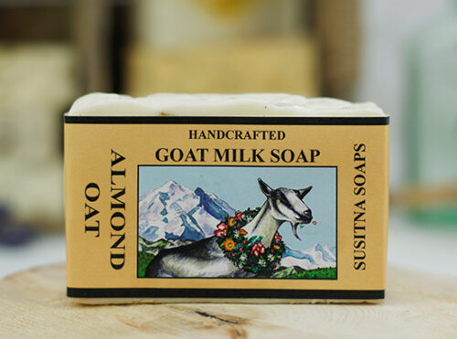 Almond Oatmeal Goat Milk Soap