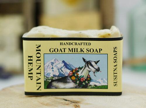 Mountain Hemp Goat Milk Soap